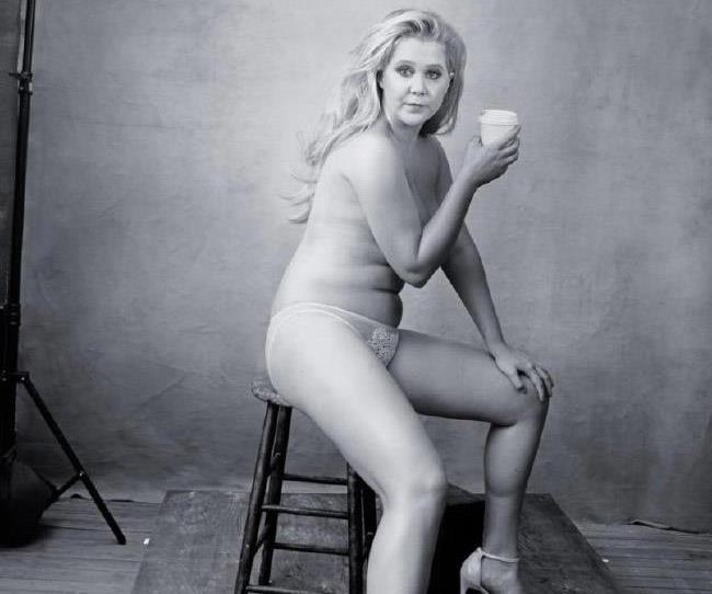 amy schumer glamour plus size controversy