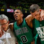 avery bradley celtic hamstring injury nba playoffs 2016