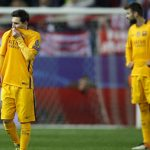 barcelona knocked out of champions league