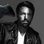 Ben Affleck standing alone with 'Batman' movie
