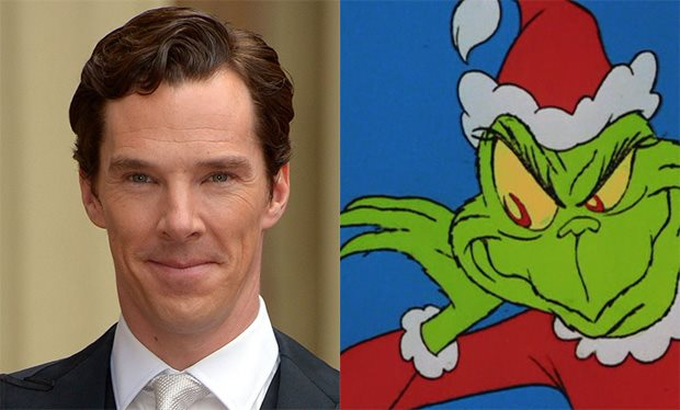 benedict cumberbatch does the grinch