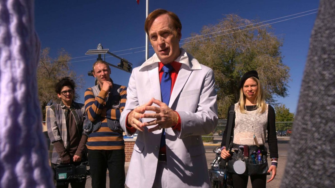 better call saul 209 jimmy at school