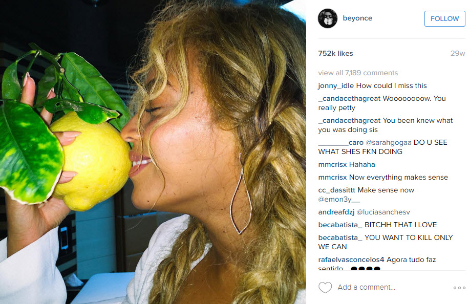 beyonce mixes up some lemonade 2016 gossip