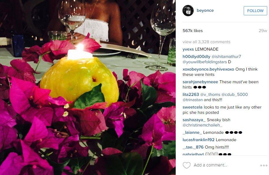 beyonce mixes up some lemonade 2016 gossip