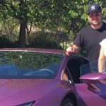 blac chyna gifted with lamborghini from rob kardashian