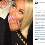 blac chyna with rob kardashian bulge money 2016