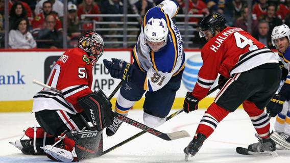 blackhawks blues not over yet