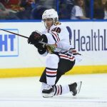 Blackhawks push one more game out of Blues with 6-3 win