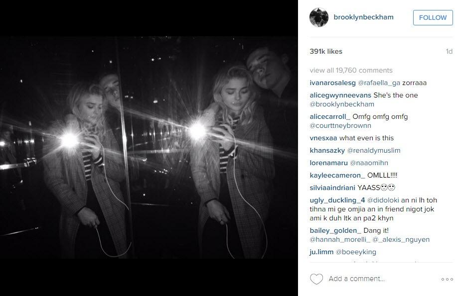 brooklyn beckham wiht chloe moretz 2016 gossip