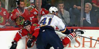 chicago blackhawks taken to brink of elimination 2016 nhl