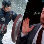 chris evans shy red carpet captain america