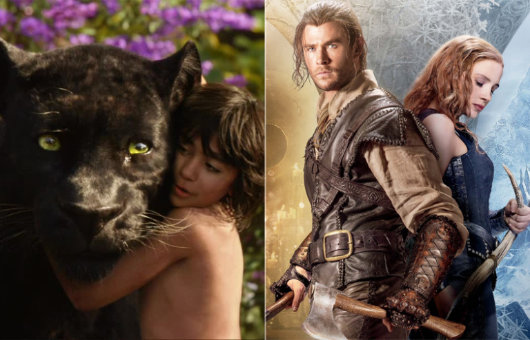 chris hemsworths huntsman can't fight off the jungle book box office weekend 2016 images