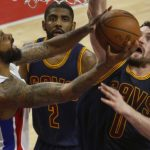 Cleveland Cavaliers sweep Detroit Pistons 100-98