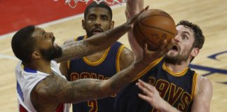 cleveland cavaliers sweep detroit pistons 100-98 2016 images