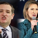 donald trump slams ted cruz carly fiorina ticket 2016 images