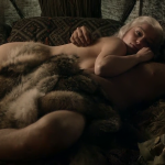 emilia clarke up for more got male nudity