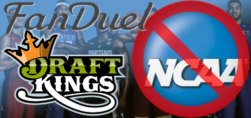 FanDuel and DraftKings stopping college sports DFS all about perception 2016 images