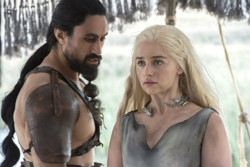 game of thrones 601 danny getting with a hottie
