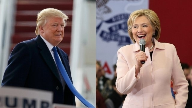 hillary clinton and donald trump ready to sweep up northeast super tuesday 2016 images