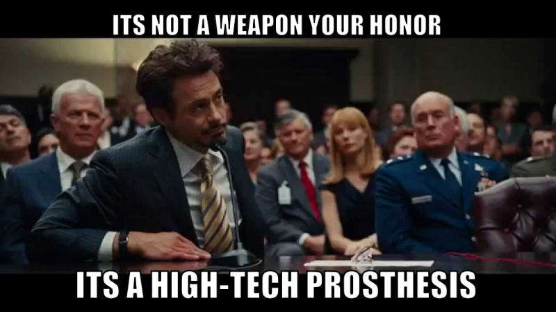 iron man court scene