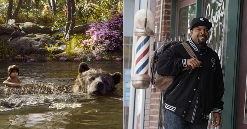 It's a 'Jungle Book' box office weekend biting into 'Barbershop the next cut' 2016 images