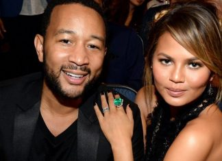 John Legend Chrissy Teigen bring some Luna home and Mariah Carey