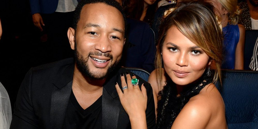 John Legend Chrissy Teigen bring some Luna home and Mariah Carey
