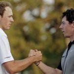 jordan spieth rory mcilroy top 2 masters spots