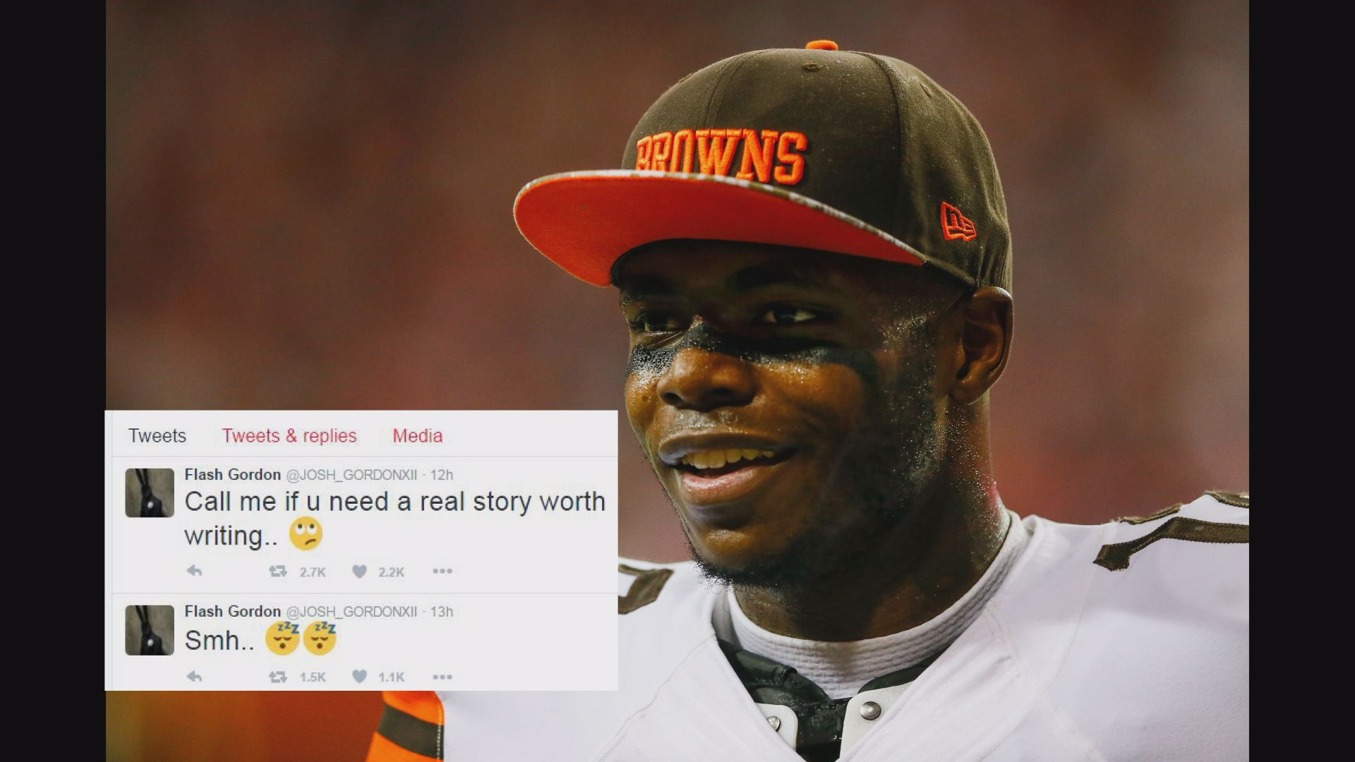 Josh Gordon's dirty leaks 2016 images