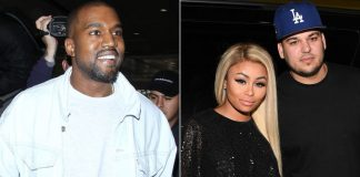 kanye west only kardashian clan member okay with rob blac chyna engagement 2016 gossip