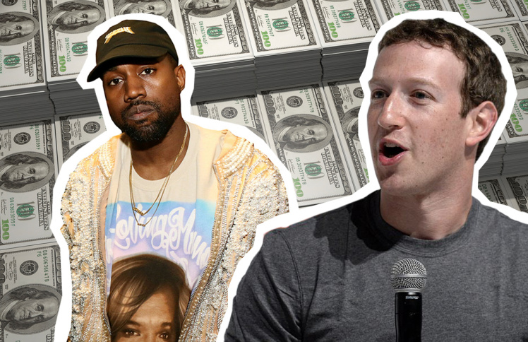 Kanye West turns to Mark Zuckerberg for some infusion and 50 Cent beef 2016 gossip