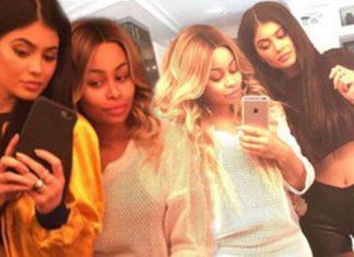 kim kardashian resolves blac chyna kylie jenner feud 2016 images