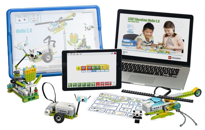 lego wedo 20 robotics kit hot tech 2016