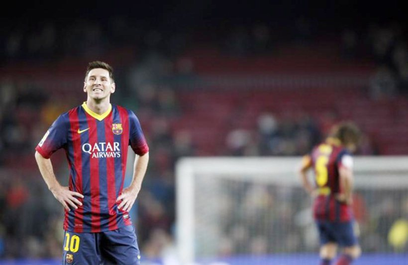 lionel messi proves human after all in champions league
