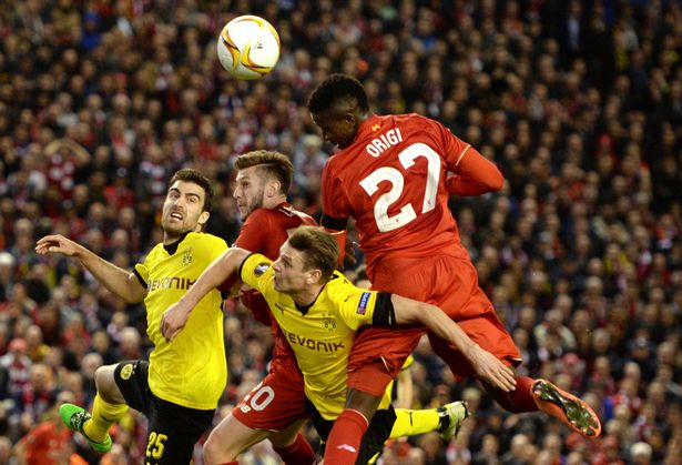 Liverpool wins hearts after beating Dortmund 4 – 3 at Anfield 2016 images