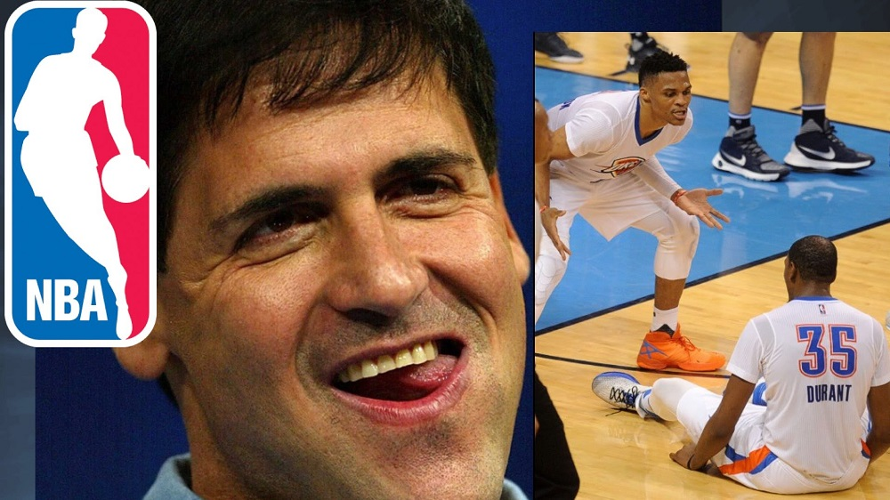 Mark Cuban brings out best in Kevin Durant on Russell Westbrook 2016 images