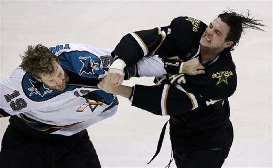 NHL Recap Dallas Stars and San Jose Sharks see series lead shrink 2016 images