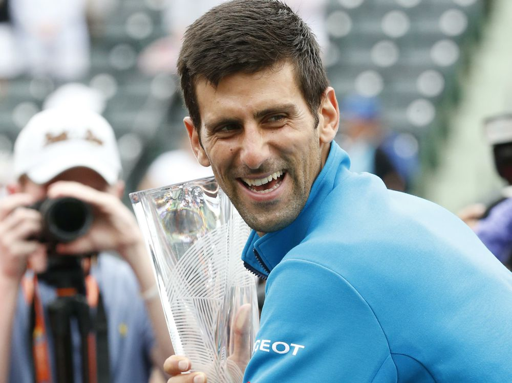 novak djokovic knocks out kei nishikori winning miami masters 2016 tennis