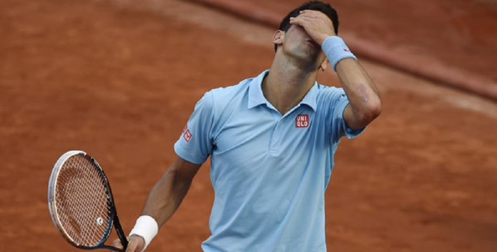 novak djokovic suffers first loss of season to jiri vesely 2016 images