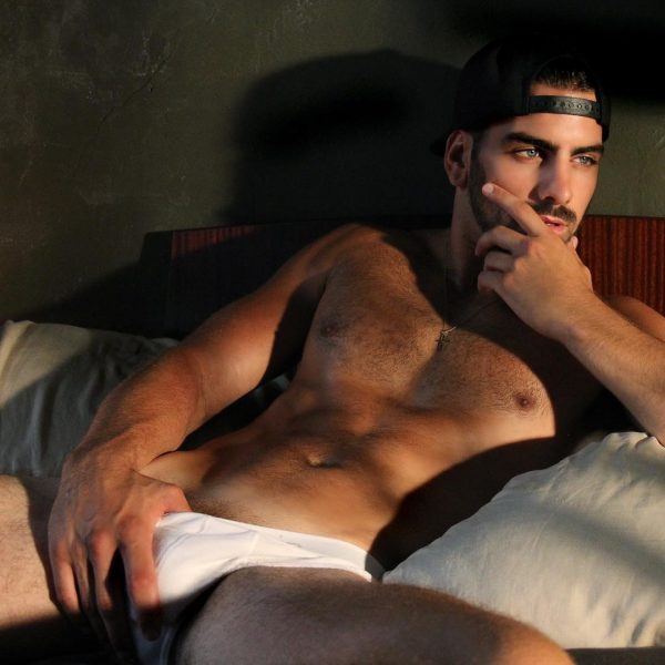 nyle di marco sizzles underwear