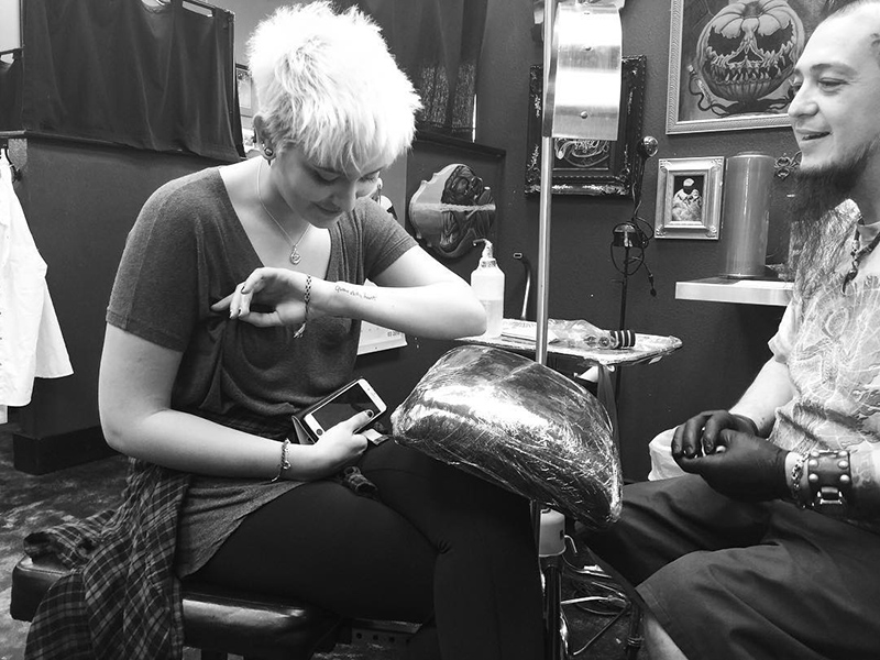 paris jackson michael tattoo