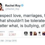 rachel roy tweets on beyonce
