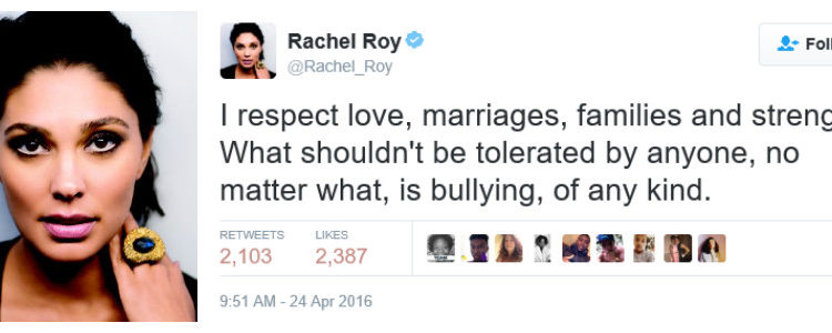 rachel roy tweets on beyonce