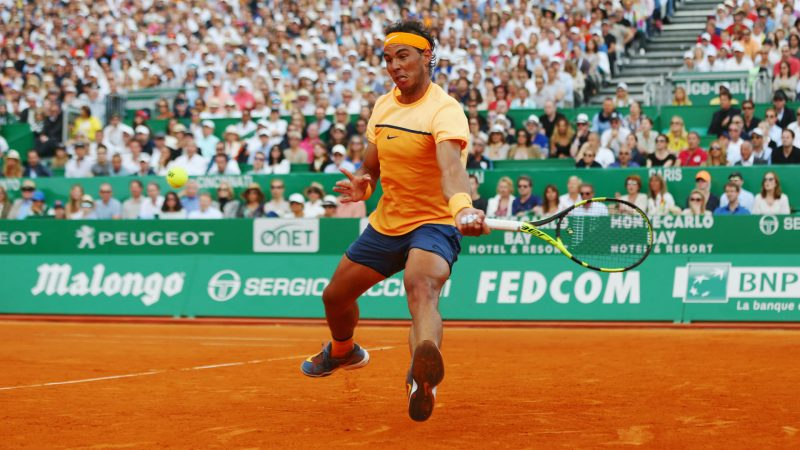 rafael nadal beats off gel monfils at monte carlo masters 2016