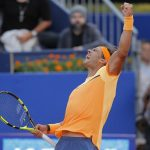 Rafi King of Clay Rafael Nadal conquers Kei Nishikori for ATP Barcelona title win 2016 images