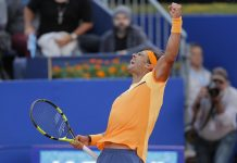 Rafi King of Clay Rafael Nadal conquers Kei Nishikori for ATP Barcelona title win 2016 images