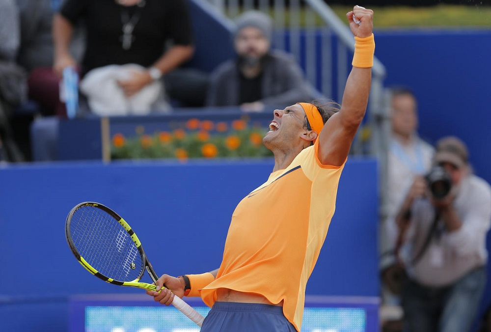 Rafi King of Clay Rafael Nadal conquers Kei Nishikori for ATP Barcelona title 2016 images