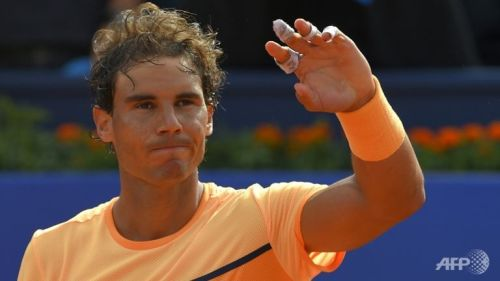 rafael nadal opens atp barcelona with win 2016 images