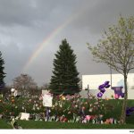 rainbow over paisley park 2016 prince