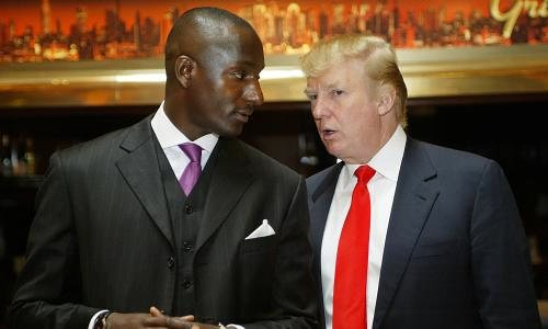randall pinkett with donald trump